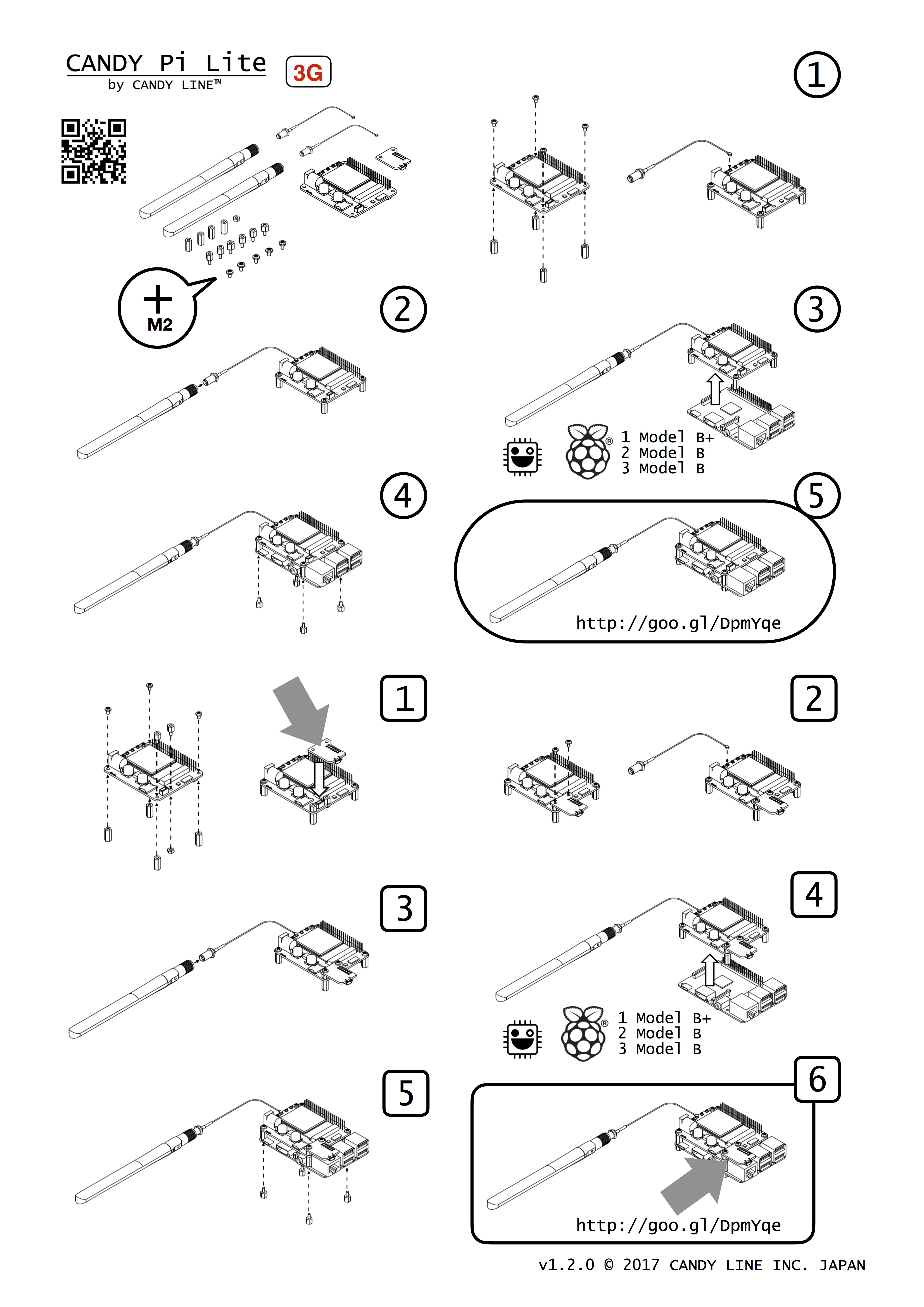 How to assemble(3G)